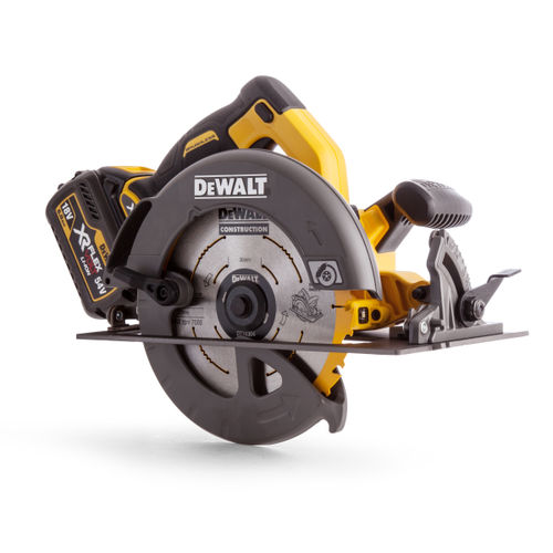 Dewalt DCS575T2 Circular Saw XR Flexvolt 54V Cordless 190mm (2 x 6.0Ah Batteries)