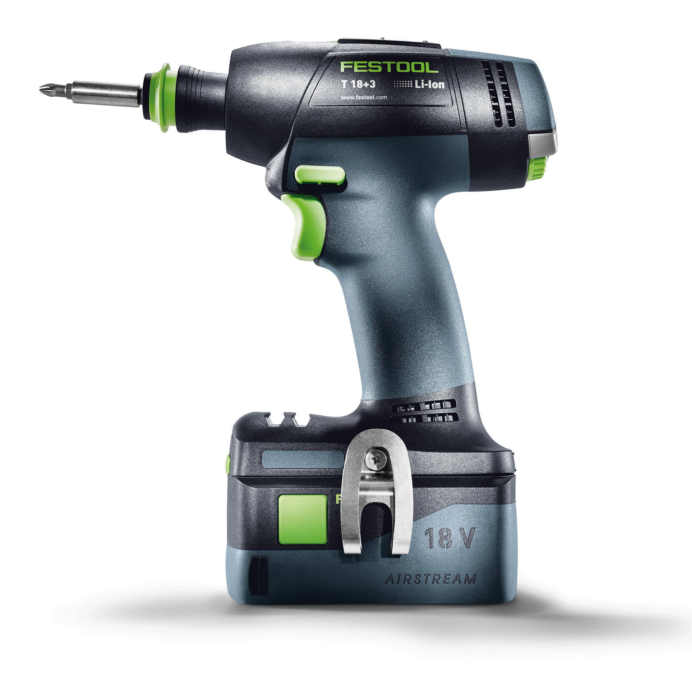 toolstop festool 574763 18v t 18 cordless drill li basic. Black Bedroom Furniture Sets. Home Design Ideas
