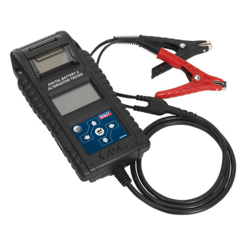 Sealey BT2015 Digital Battery & Alternator Tester With Printer