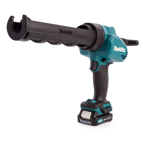 Makita CG100DWAEA 10.8 CXT Cordless Caulking Gun with 300ml Holder (2 x 2.0Ah Batteries)
