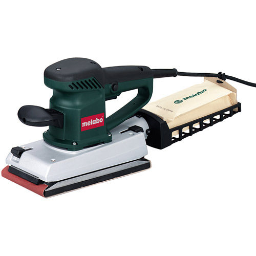 Metabo SR 358 1/2 Sheet Random Orbit Flat-Bed Sander 110V