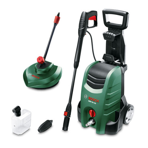 Bosch AQT 40-13 Pressure Washer with Patio Cleaner 130 Bar 400 l/h 1900W