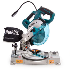 Makita DLS600Z Cordless 18V Brushless Mitre Saw 165mm (Body Only)