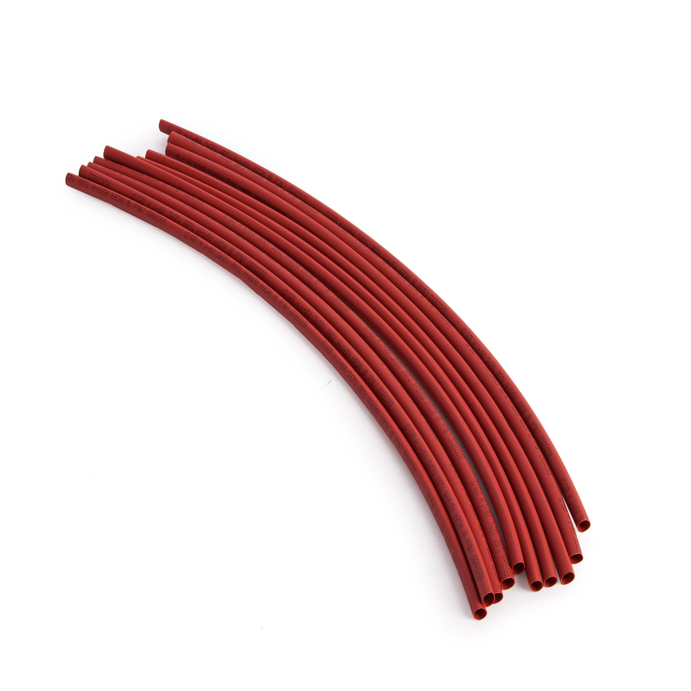 BlueSpot 40512 Red Heat Shrink Tubing 300mm (10 Piece) on