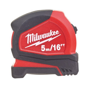 Milwaukee 4932459595 Pro Compact Tape Measure (5 Metres / 16ft)