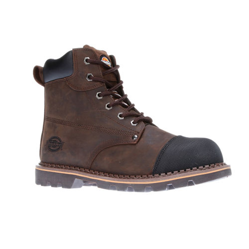 Dickies FD9210 Crawford Safety Boot (Brown) - Size 7