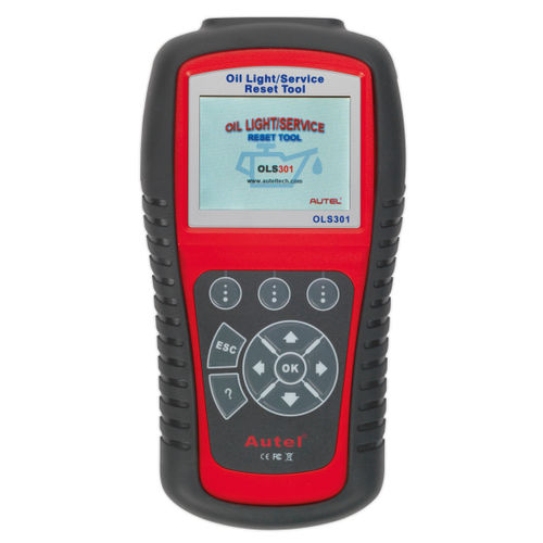 Sealey OLS301 Autel Eobd Code Reader - Oil & Service Reset Tool