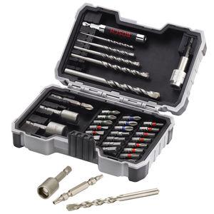 Bosch 2607017326 CYL-3 Drills for Concrete / Screwdriver Bit Set 35 Piece