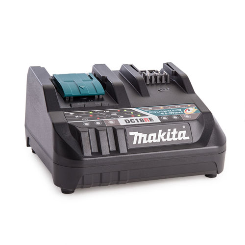 Makita DC18RE 18V Dual Port Battery Charger for LXT and CXT 10.8-18V