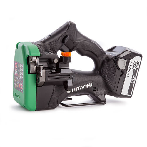 Hitachi CL18DSL Cordless Stud Cutter With Charger and Kitbox (2 x 5.0Ah Batteries)