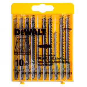 Dewalt DT2290 HCS Jigsaw Blades for Wood (Pack of 10)