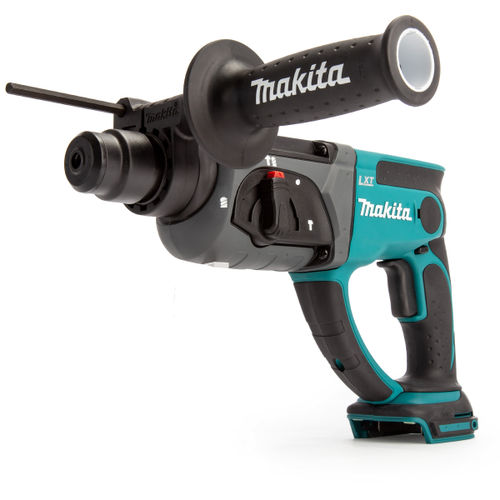 Makita DHR202Z 18V SDS Plus Rotary Hammer Drill (Body Only) with D-21200 17 Piece Drill & Chisel Set