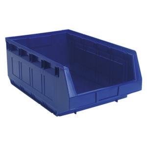 Sealey TPS5 Plastic Storage Bin 310 X 500 X 190mm - Blue Pack Of 12