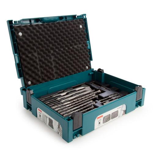 Makita B-52059 SDS+ Drill & Chisel Set In MakPac Case (17 Piece)