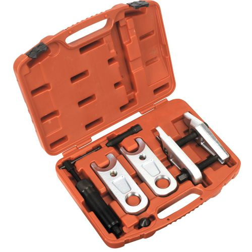 Sealey VS3814 Ball Joint Splitter Hydraulic & Manual 9pc - Hgv
