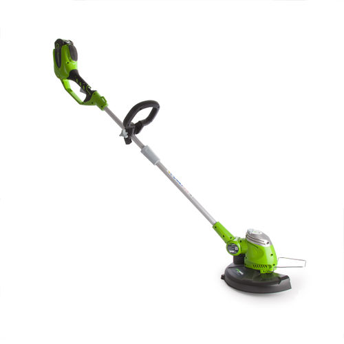 Greenworks G40LTK2 40V String Trimmer 10S Motor With 2Ah Battery