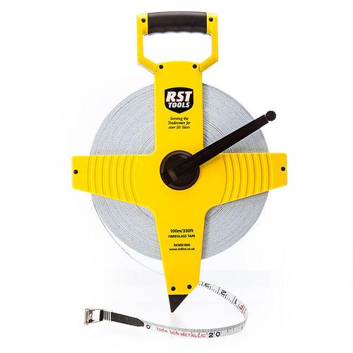 RST RKM81000 Open Frame Tape Measure 100m / 330ft