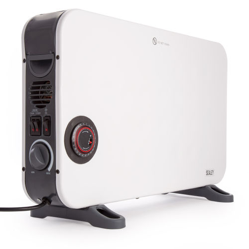 Sealey CD2013TT Convector Heater with Turbo and Timer 2000W 240V