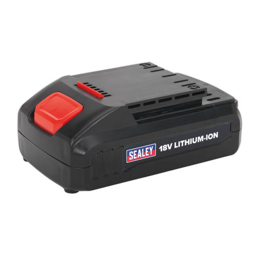 Sealey CP2518LBP Cordless Power Tool Battery 18v 1.3ah Lithium-ion For CP2518L