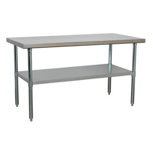 Sealey AP1560SS Stainless Steel Workbench 1.5mtr