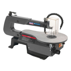 Sealey SM1302 Variable Speed Scroll Saw 406mm Throat 240V