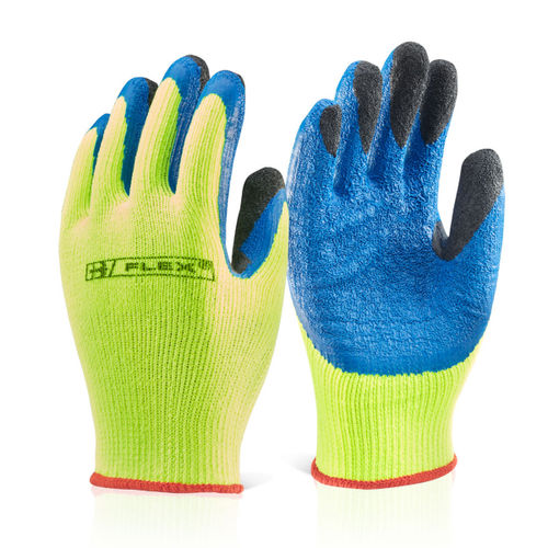 Beeswift BS047SY10 Latex Thermo-Star Fully Dipped Glove Yellow -XLarge