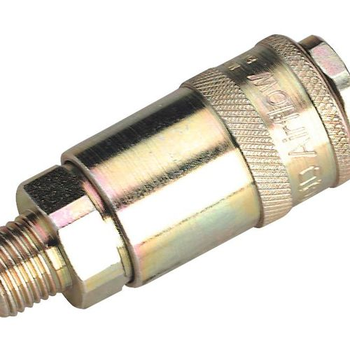 """Sealey AC01BP Coupling Body Male 1/4""""bspt Pack Of 50"""