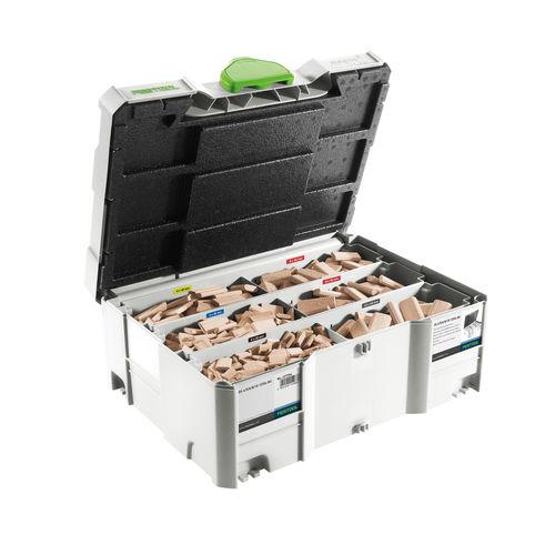 Festool 498899 DOMINO Beech Wood Dowel Range DS 4/5/6/8/10 (1060 Pieces)