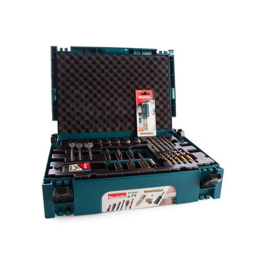 Makita B-51699 Drill and Bit Set 71 Piece