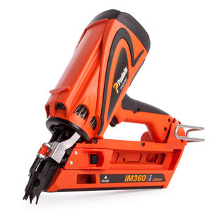 Paslode IM360Ci Cordless 7.2V 1st Fix Gas Framing Nailer (1 x Battery) 010391