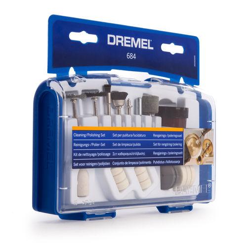 Dremel 684 Cleaning / Polishing Accessory Set (26150684JA)