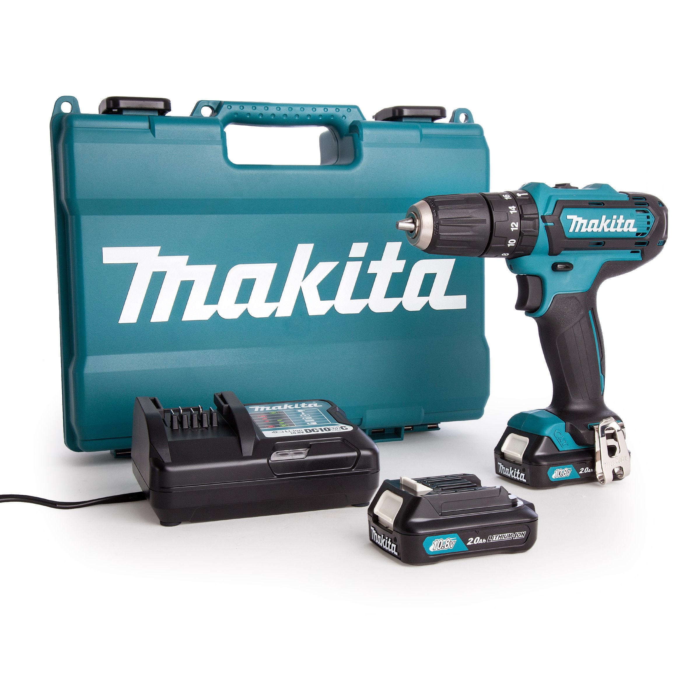 Rørig Toolstop Makita HP331DWAE Combi Drill 10.8V CXT Cordless Li-ion (2 LL-01