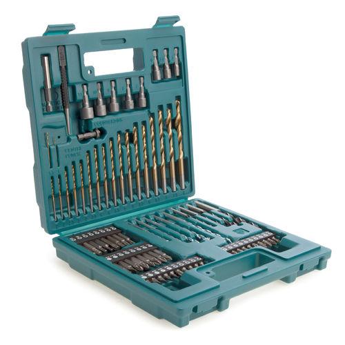 Makita B-49373 Drill Bit & Screw Bit Set (75 Piece)
