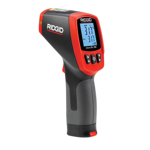 Ridgid 36798 Thermometer Non-Contact Infrared Micro IR-200