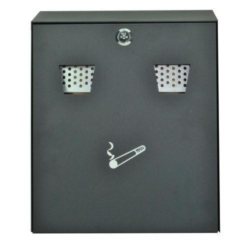 Sterling CIG2BK Cigarette Bin Wall Mounting Black
