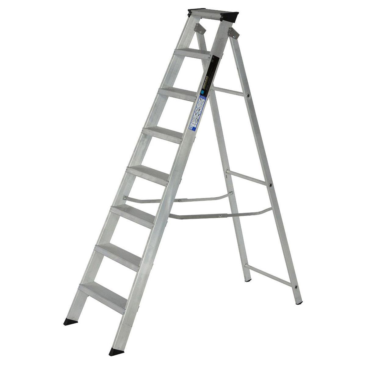 Toolstop Youngman 308996 Builders Steps 8 Tread