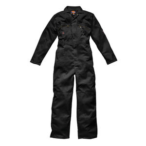Dickies WD4839 Front Zip Redhawk Coverall - Black