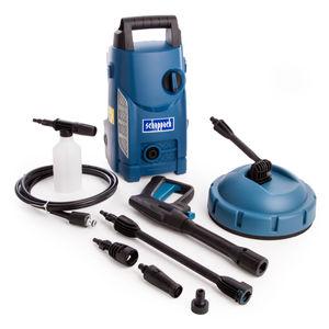 Scheppach HCE1500 High Pressure Washer / Patio Cleaner 1400W 70 Bar 240V