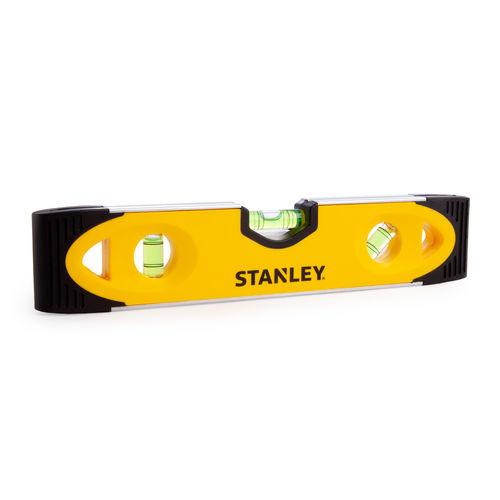 Stanley 0-43-511 Shock Proof Torpedo Magnetic Spirit Level 230mm