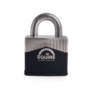 Henry Squire WARRIOR-55 Open Shackle Steel Padlock 5 Pin Cylinder 55mm