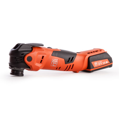 Fein AFMT12QSL Oscillating Multitool 12V li-ion Cordless MultiTalent Quick Start with Starlock Plus and Accessories (2 Batts)