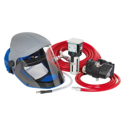 Sealey SSP201K Air Fed Breathing Mask Complete Kit