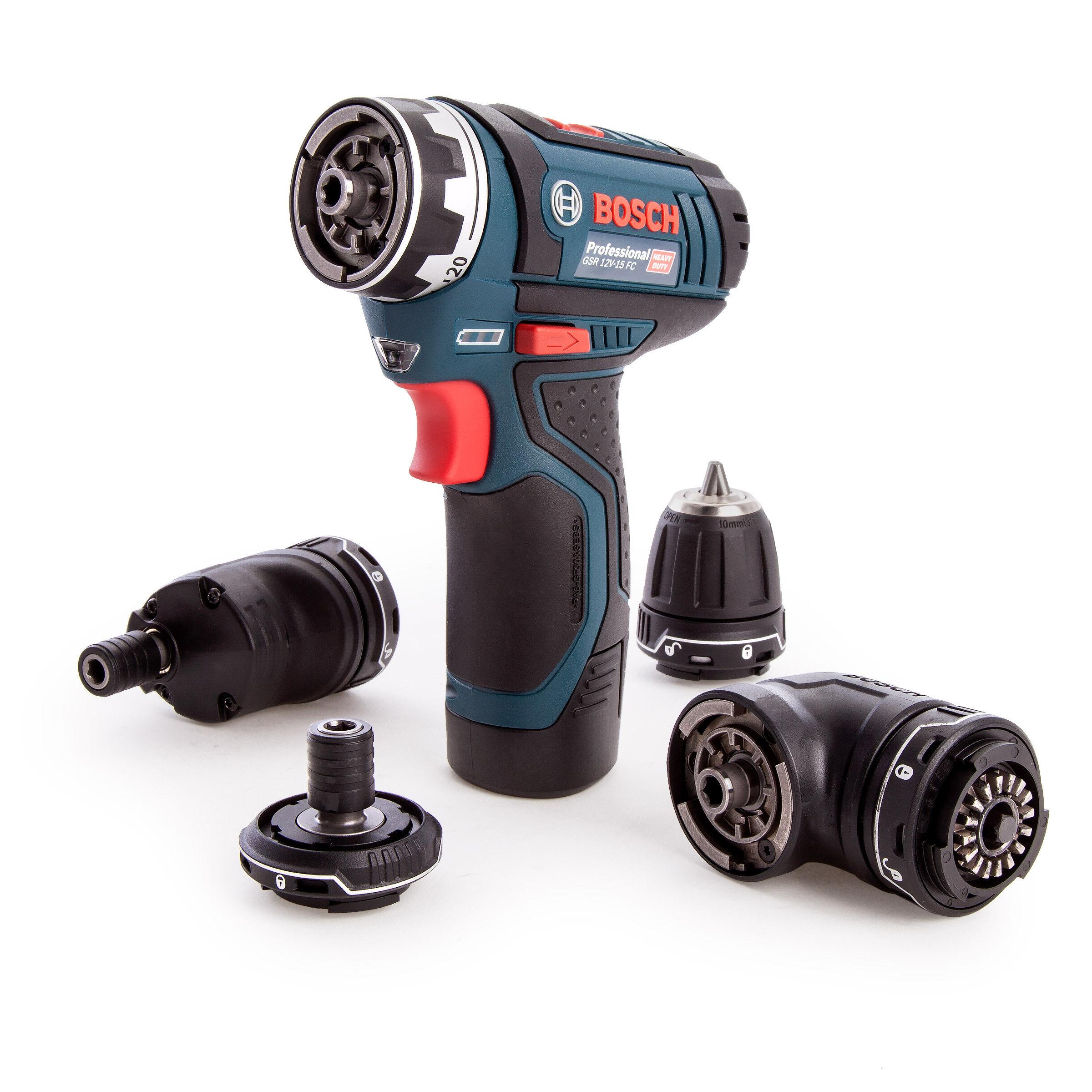 Fabulous Toolstop Bosch GSR 12V-15 FC Professional 12V Cordless FlexiClick ON86