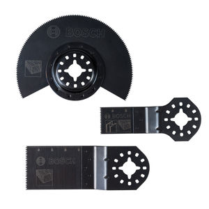 Bosch 2608662343 Multi-Tool Blade Set for Wood and Metal 3 Piece
