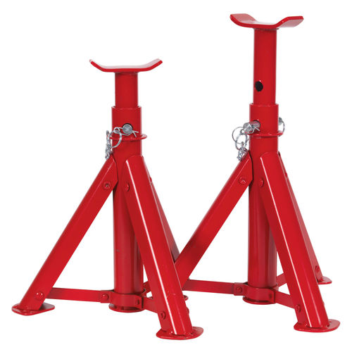 Sealey AS2000F Axle Stands 2 Tonne Capacity Per Stand 4 Tonne Per Pair TUV/GS Folding Type