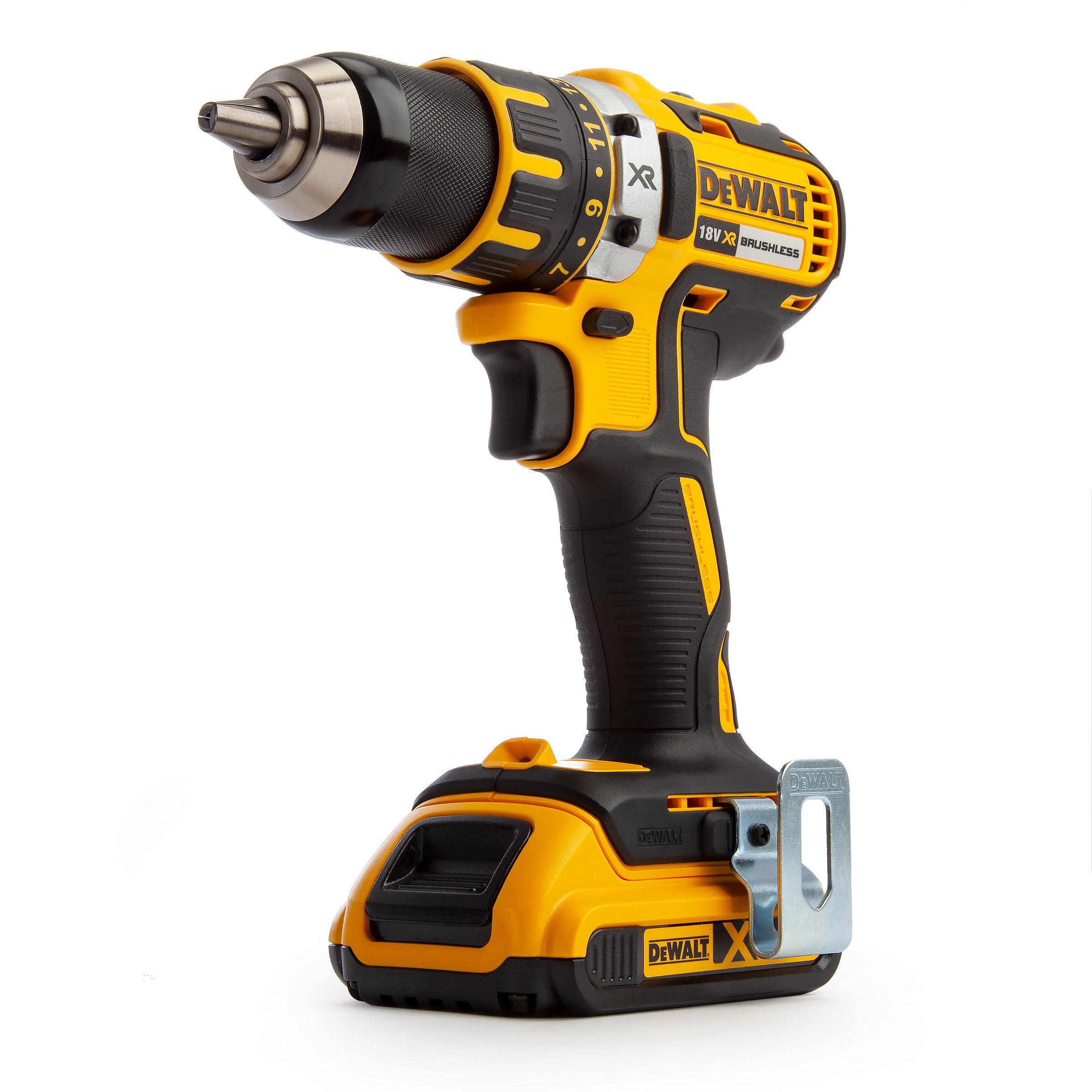 Icke gamla Toolstop Dewalt DCD790D2 18V XR Brushless Compact Drill Driver (2 HV-81