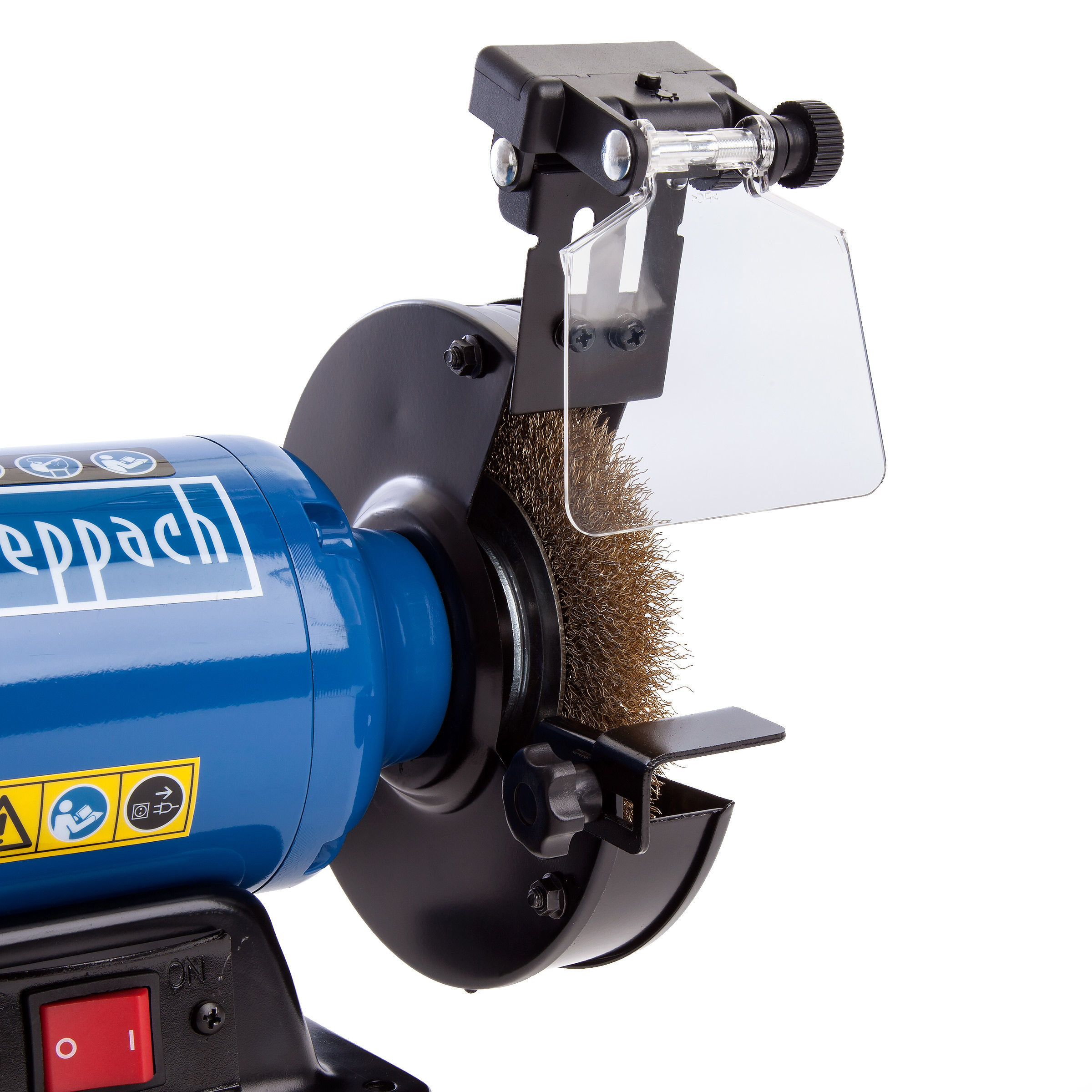 Toolstop Scheppach Sm150lb Twin Bench Grinder With Wire