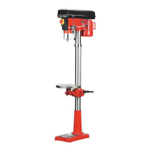 Sealey GDM160F Pillar Drill Floor 16-Speed 1580mm Height 550W / 240V