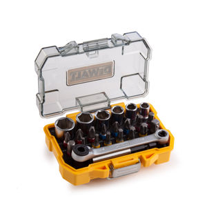Dewalt DT71516-QZ Socket and Screwdriving Set 1/4in Drive 24 Pieces