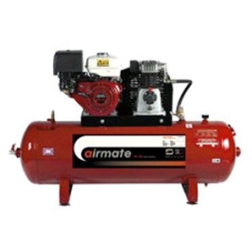 SIP 04456 ISHP8/200 Airmate Industrial Super Petrol Compressor with Honda Engine 200L